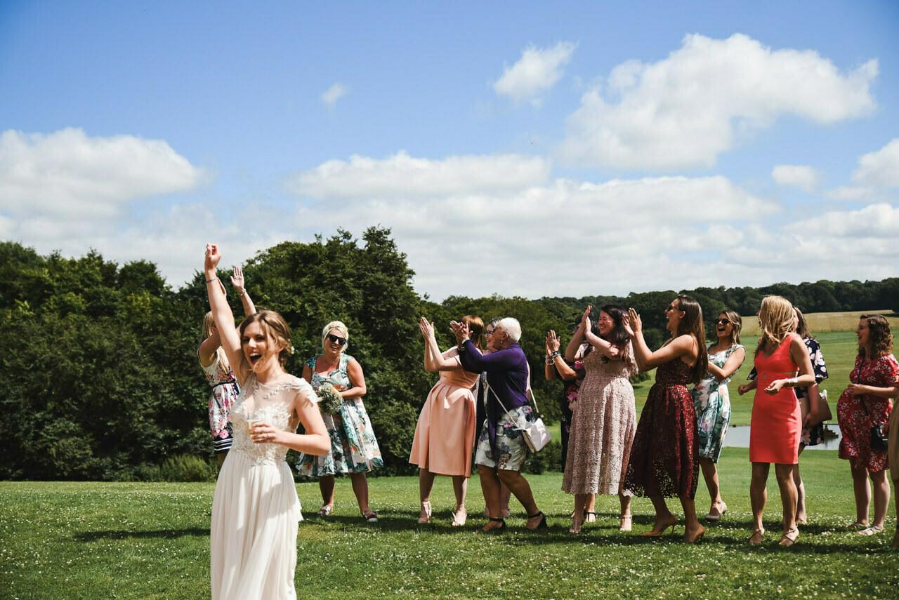 Sledmere House -Wedding  Photography Yorkshire 95