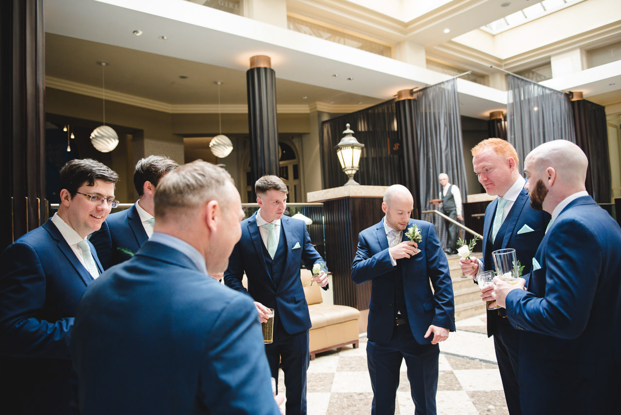 The Midland Hotel -Wedding Photography Manchester 11