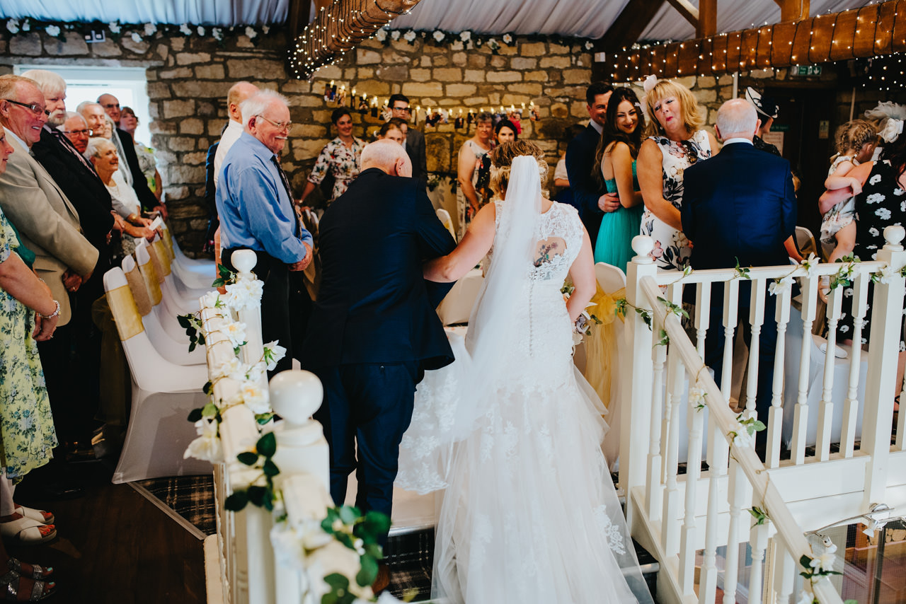 The Old Barn-West Yorkshire Wedding  Photography 39