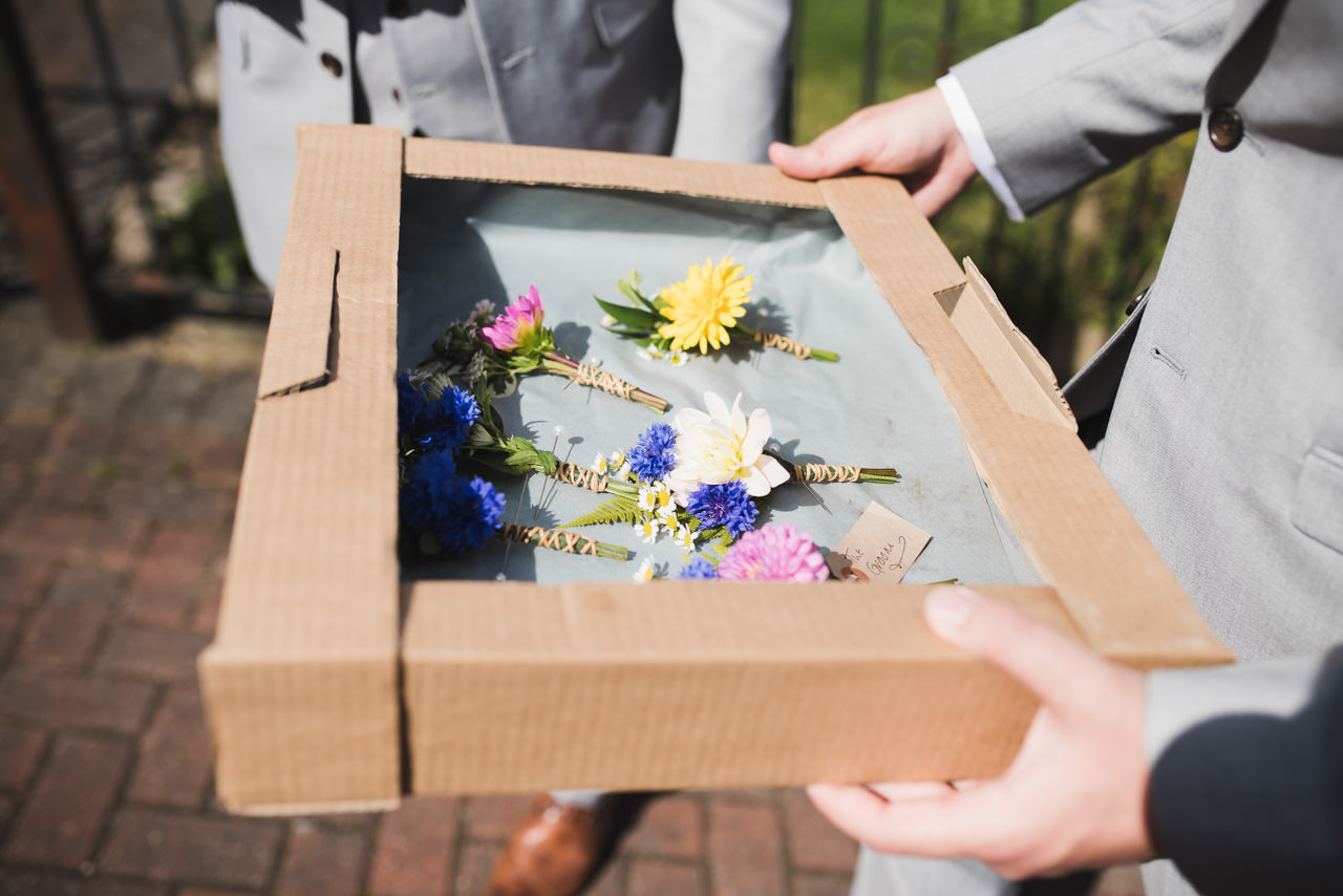 Rustic wedding at Wharfedale Grange-Yorkshire Wedding photographer 3
