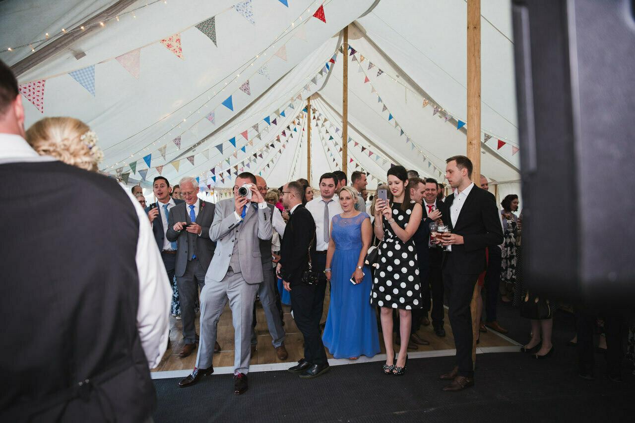 Rustic wedding at Wharfedale Grange-Yorkshire Wedding photographer 59