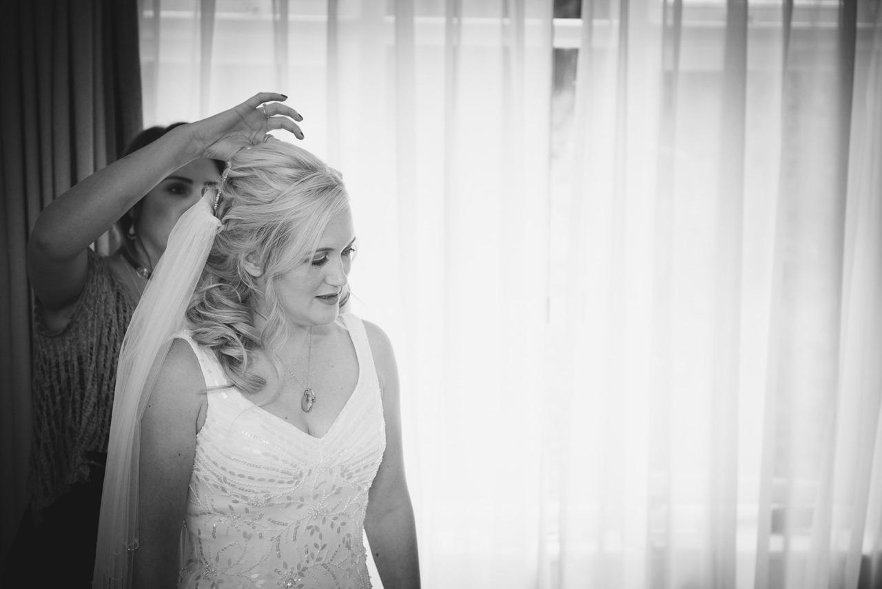 Wedding photography at  Hollins Hall Hotel & Country Club, Bradford 16
