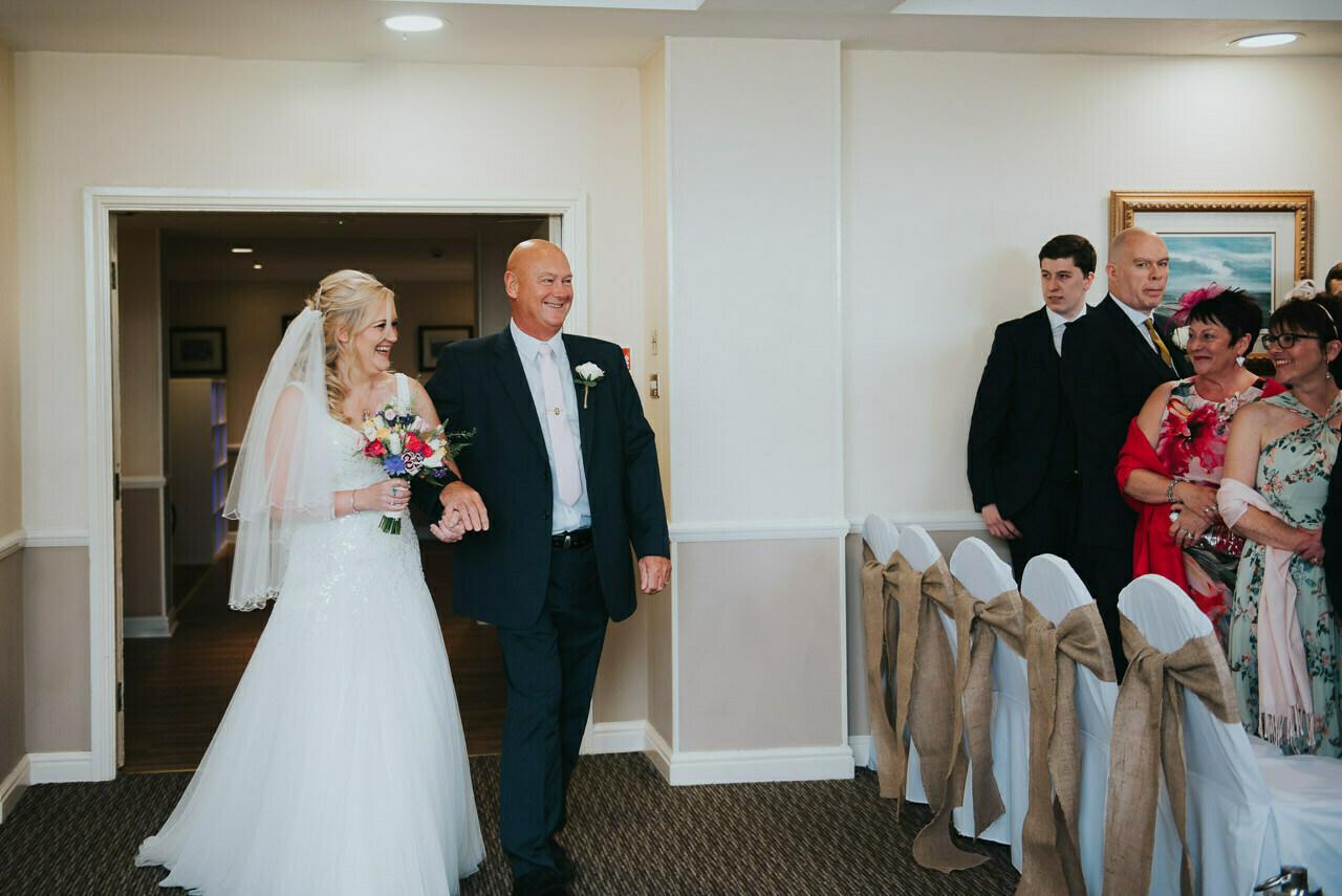 Wedding photography at  Hollins Hall Hotel & Country Club, Bradford 20