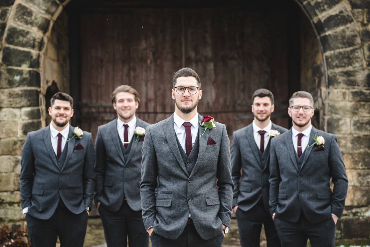Wedding photography at East Riddlesden Hall Barn 9