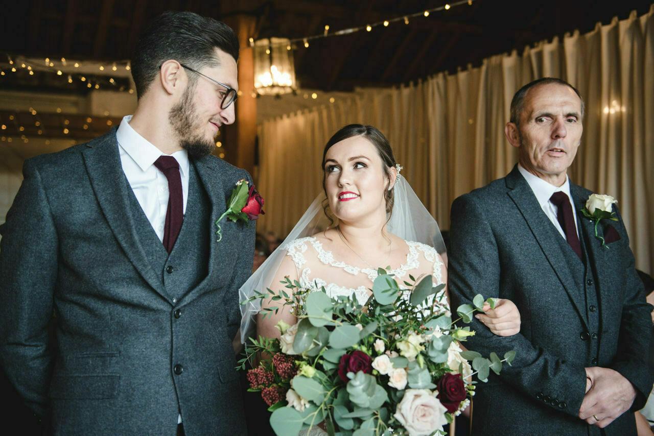 Wedding photography at East Riddlesden Hall Barn 17