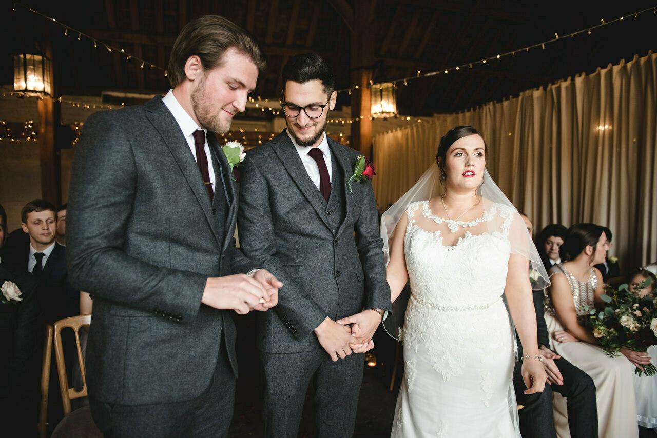Wedding photography at East Riddlesden Hall Barn 20