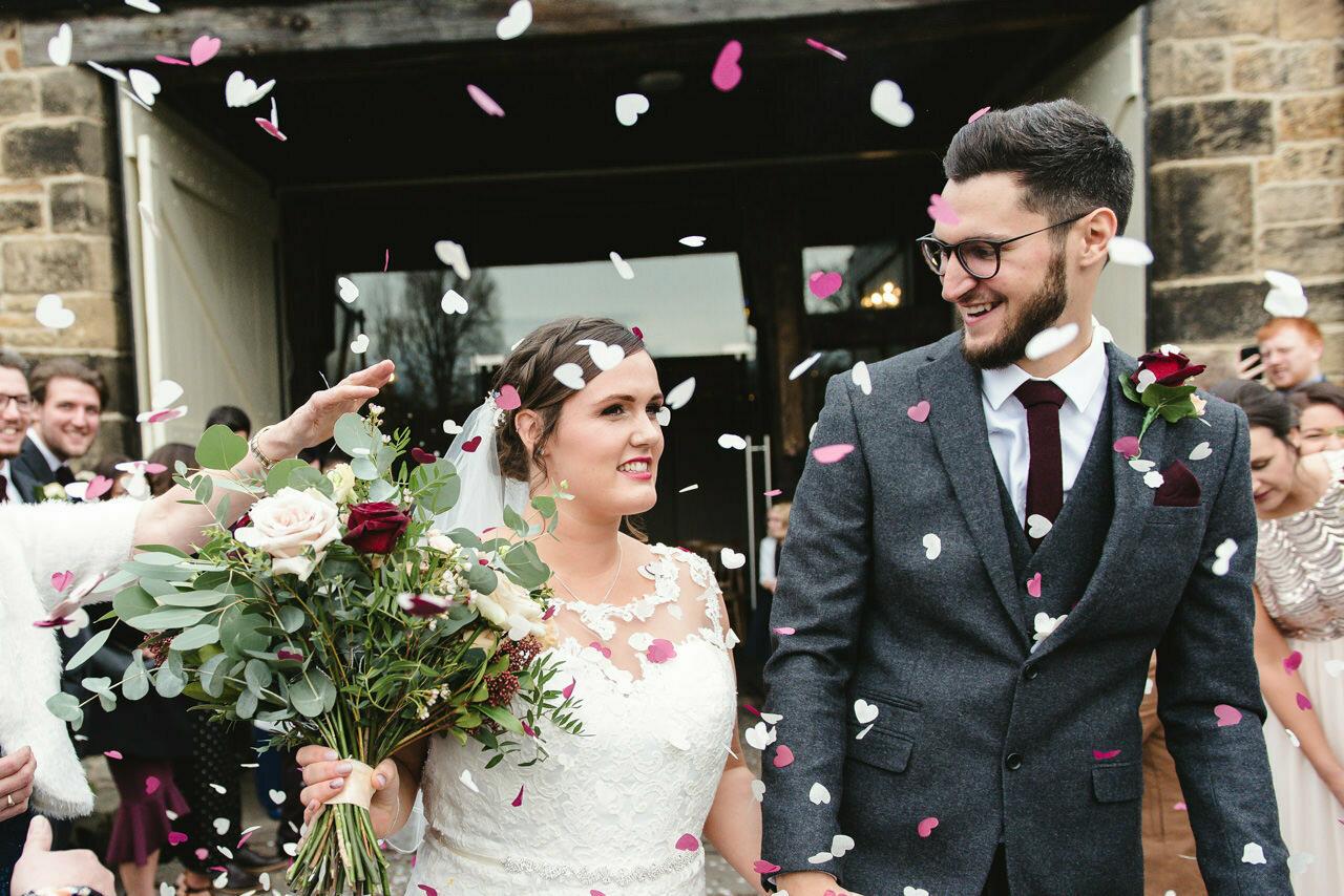 Wedding photography at East Riddlesden Hall Barn 23