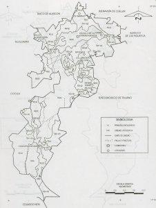 Mapa geológico del municipio