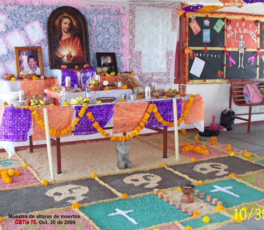 Informatica I Altar de Dia de los Muertos
