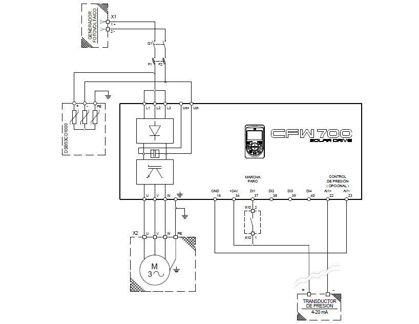 weg cfw700 wiring diagram