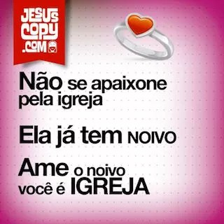 apaixonado por jesus