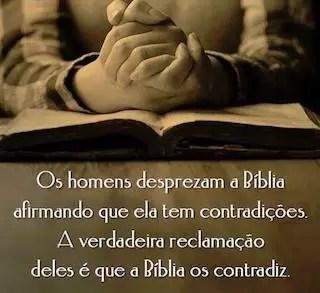 contradizendo a biblia