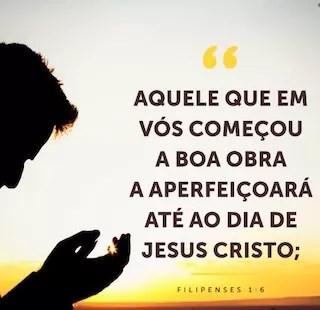 jesus completa sua obra