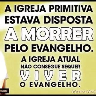 viver pelo evangelho