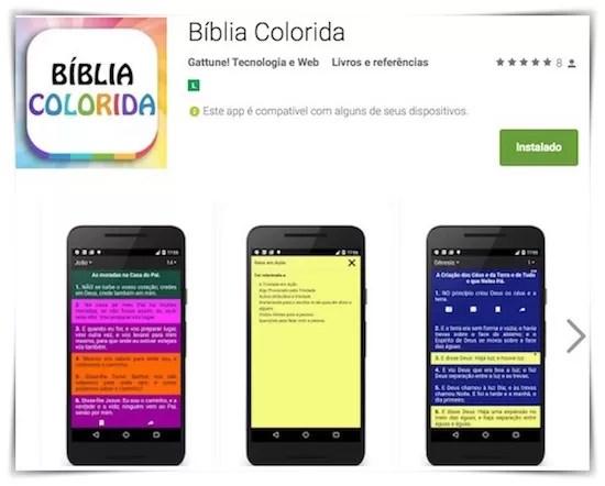 biblia colorida tematica