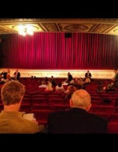 Photo taken at the walter kerr theatre by michelle on also theater in new york rh foursquare