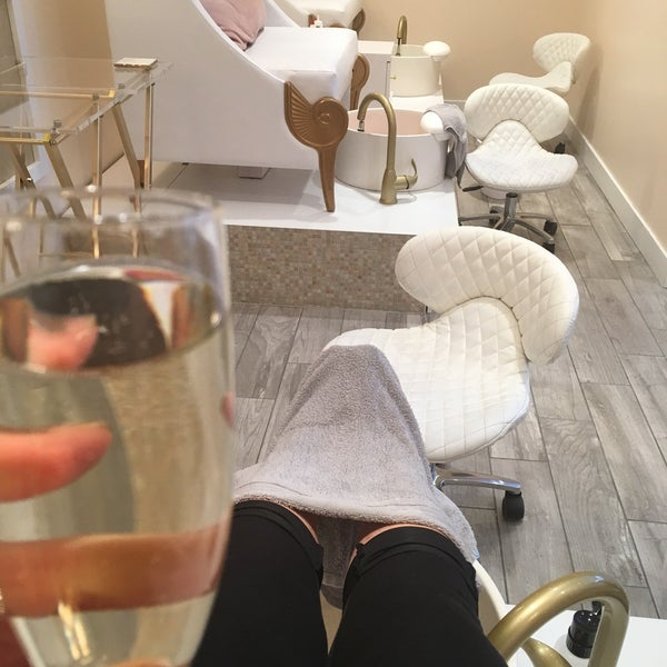 Photo Taken At Re 39 Luxe Nail Spa By Charniece T On 2