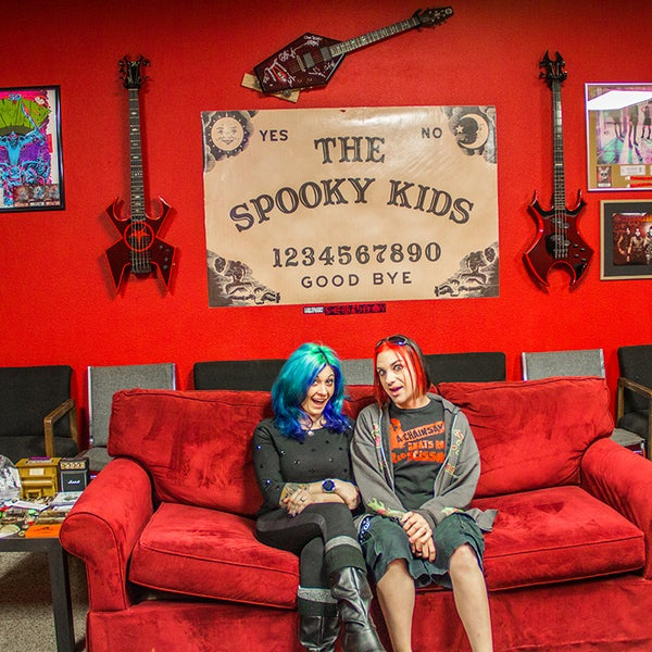 Rock And Roll Themed Hair Salons Seven Sins Salon