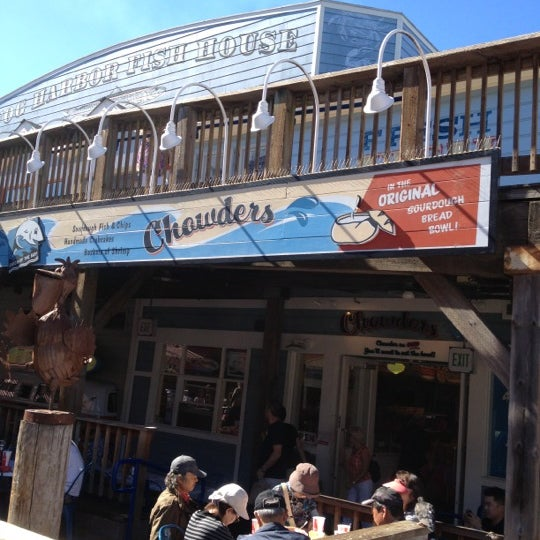 Wharf Fishermans Lunch San Francisco