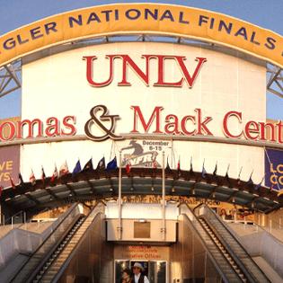 Thomas Amp Mack Center Las Vegas Nv