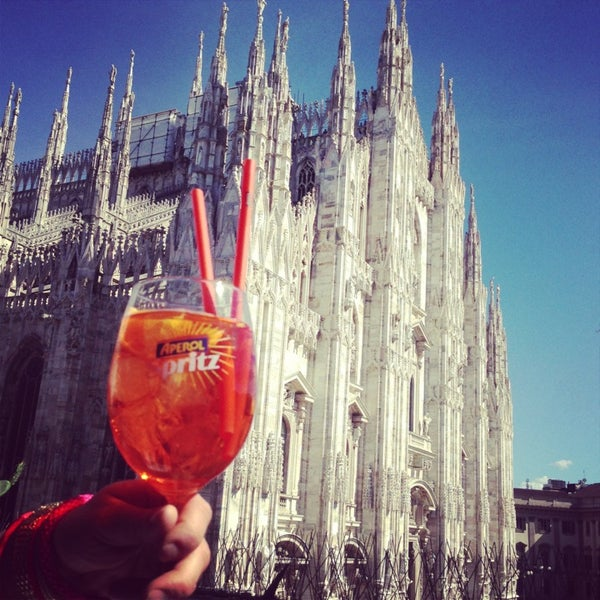 Terrazza Aperol  Cocktail Bar in Duomo