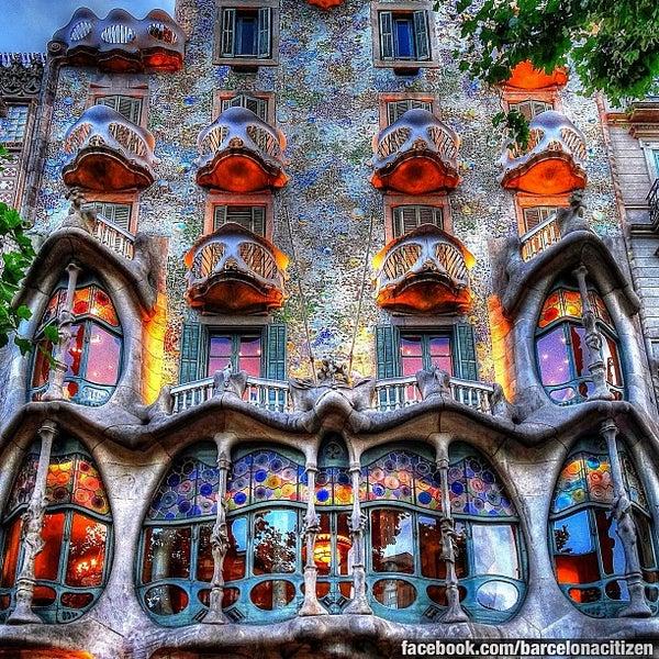 Casa Batll  La Dreta de lEixample  Barcelona Catalua