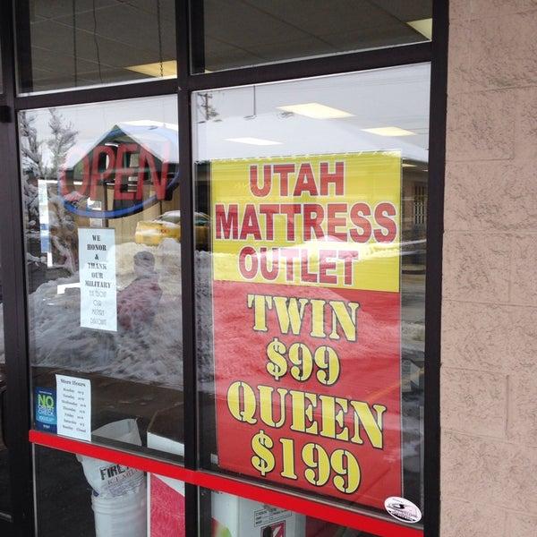 Photo Taken At Utah Mattress Outlet Ogden By Teach J On 12 20