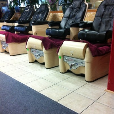 Photo Taken At Cnj Nails Spa By Jackie T On