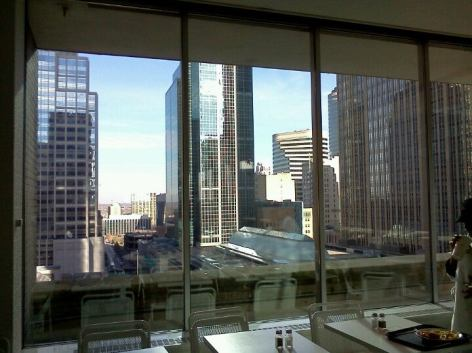 downtown minneapolis from macy's skyroom