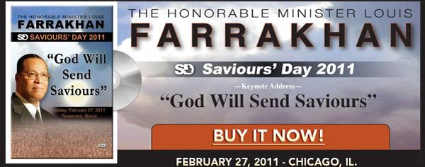 Saviours' Day 2011 Keynote Address