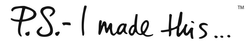 P.S.- I made this...logo