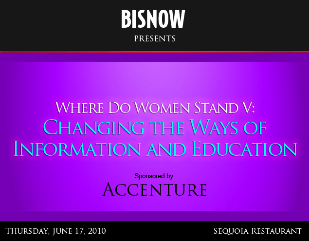 Bisnow Where Do Women Stand V