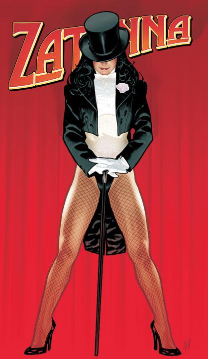 Adam Hughes Zatanna Cover