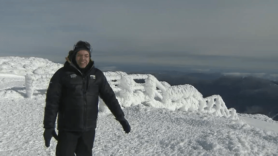 Greg Fishel on Mt. Washington