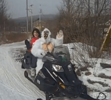 Valley Girl - Snowmobiling