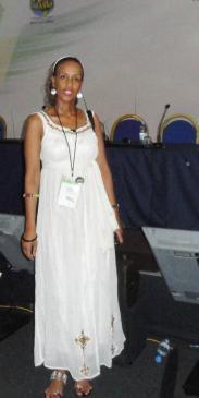 Sophia Bekele at ICANN Forum Dakar