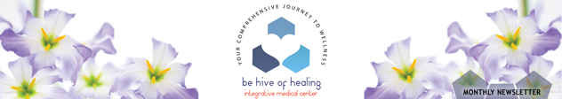 Be Hive of Healing Newsletter Header