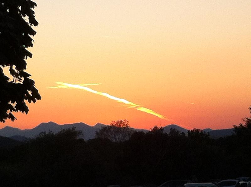 cross in sky over Medjugorje 8-12