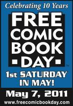 Free Comic Book Day Logo 2011