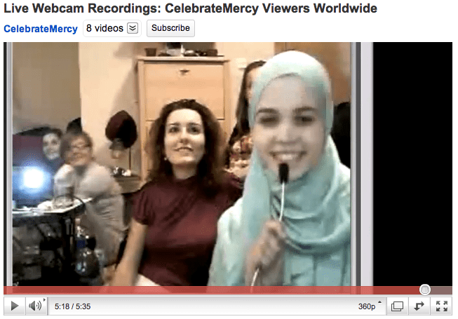 webcam youtube