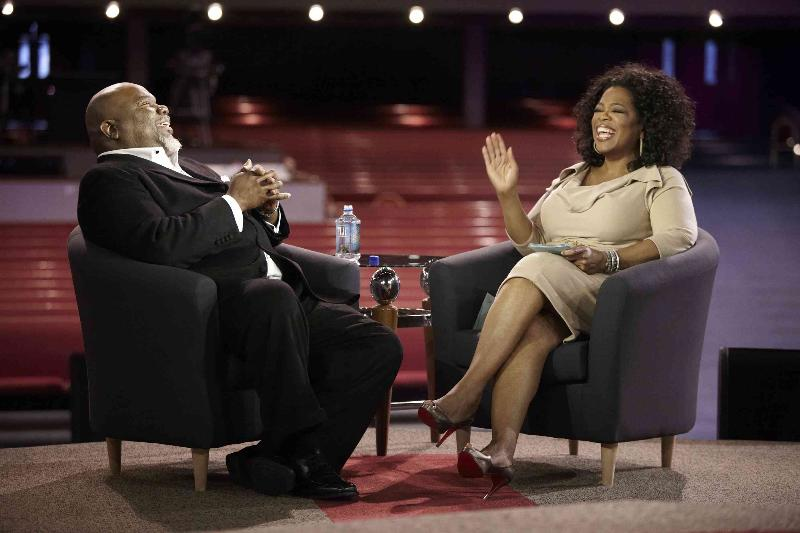 Bishop T.D. Jakes and Oprah