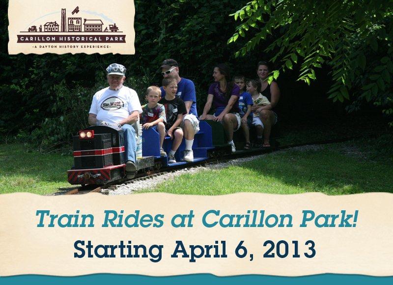 Train Rides at Carillon Park