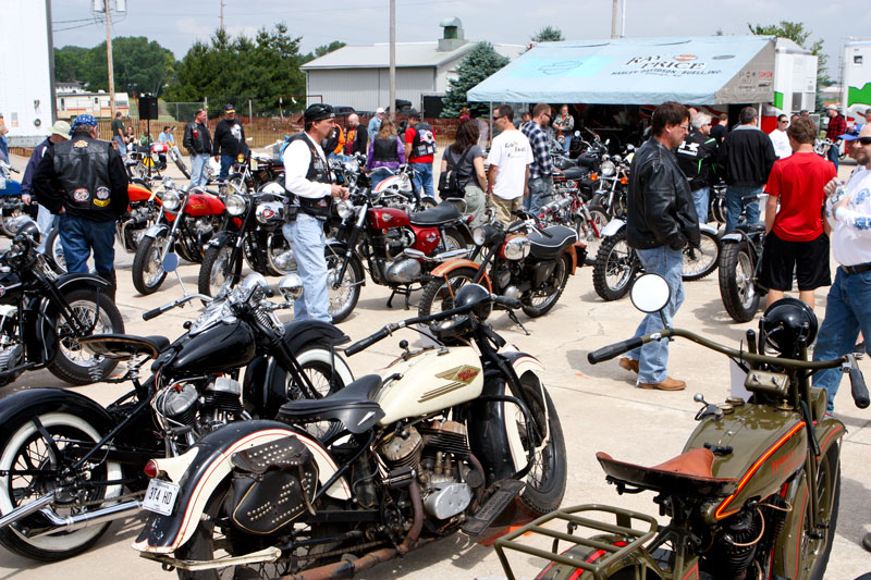 The Vintage Rally Bike Show, for 1988 and earlier motorcycles, also has spt