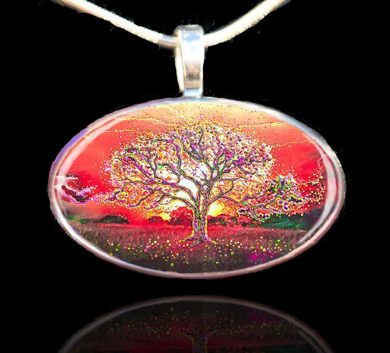 Theta Healing Tree Pendant