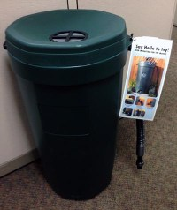 Enter to win a rain barrel.