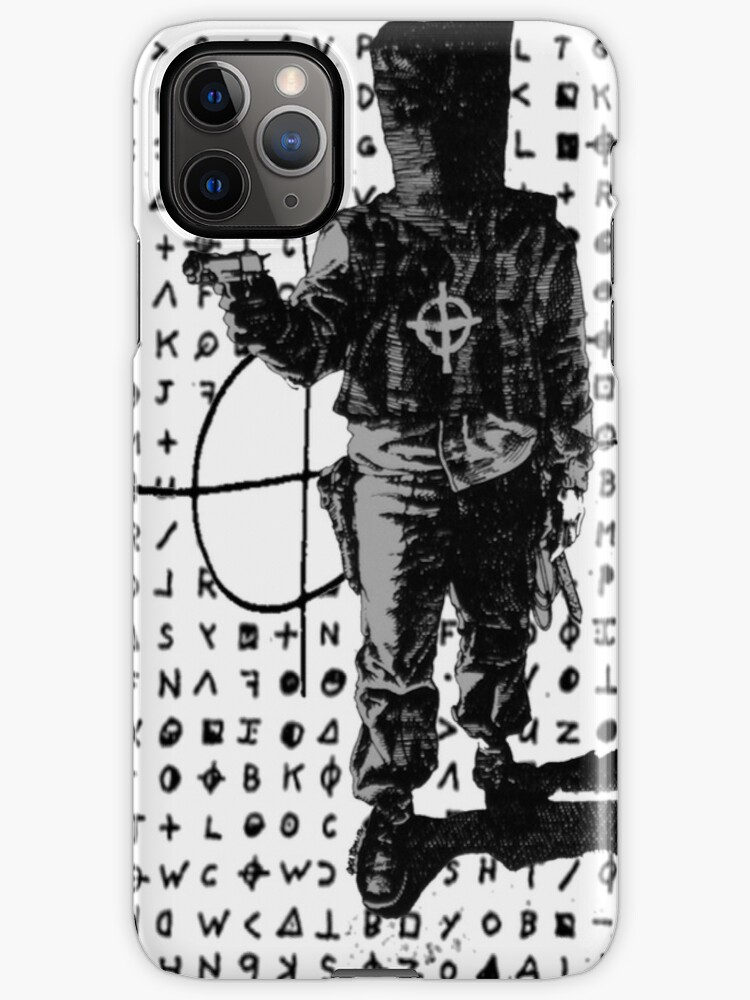 """Zodiac killer symbolnever caught or officially identified! """"Zodiac Killer Design"""" iPhone Case & Cover by alysajailyn ..."""