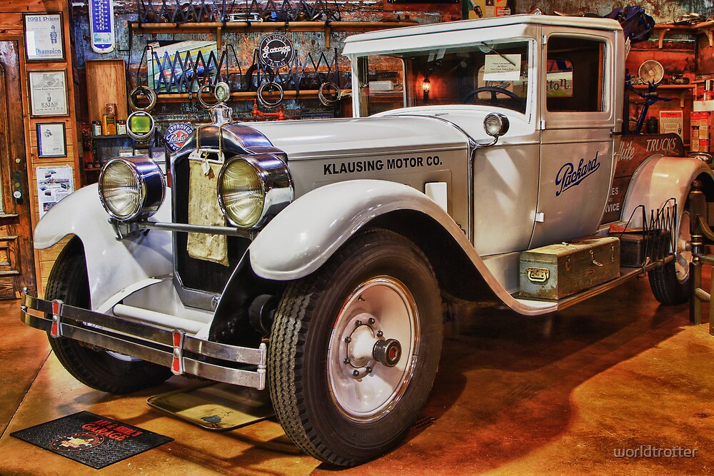 1928 Packard Tow Truck By Tomas Abreu Redbubble