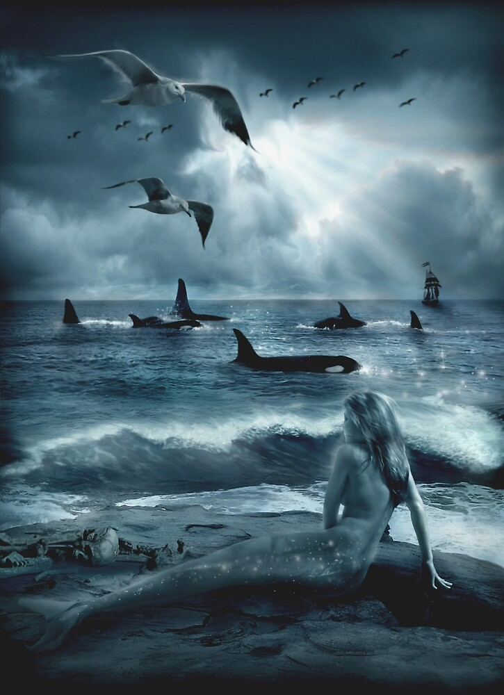 Sirens of the Sea by Cliff Vestergaard  Redbubble