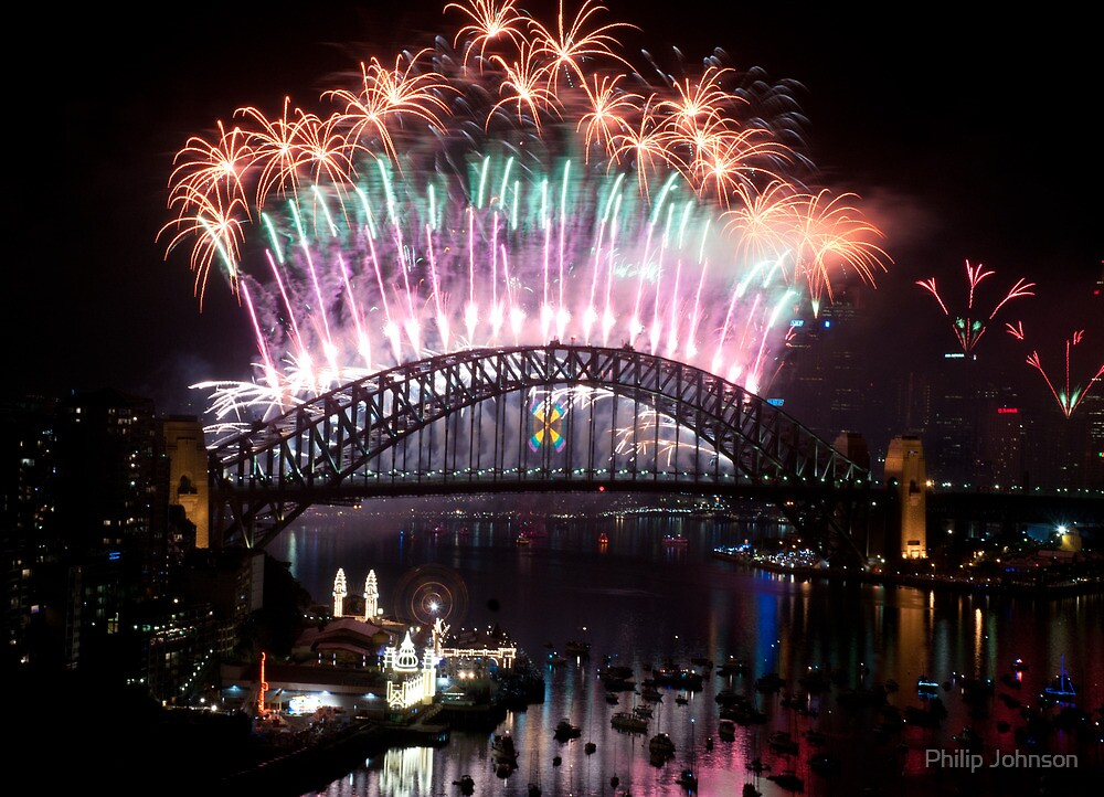 Simply The Best   Sydney NYE Fireworks 2 by Philip
