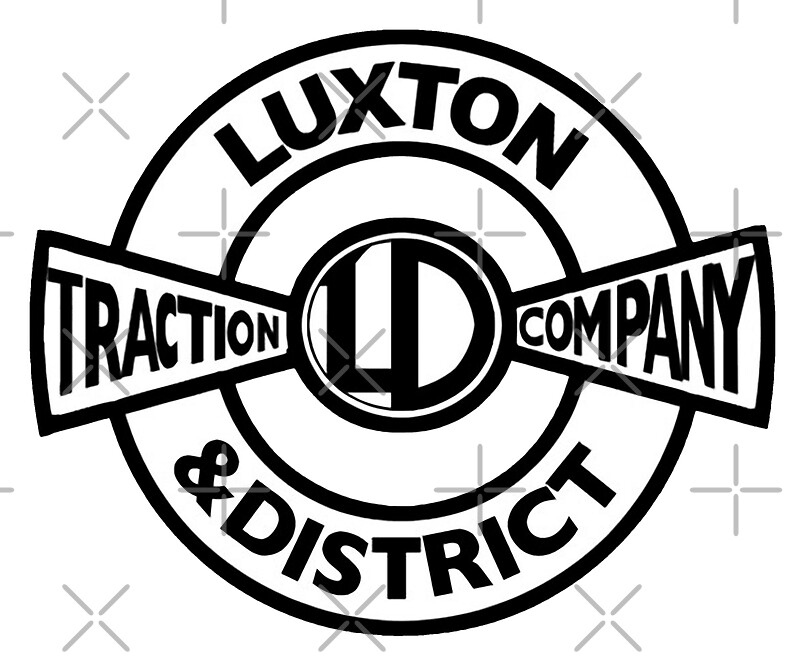 Luxton & District Traction Company Logo (On The Buses) by